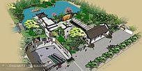 古建休闲滨水公园