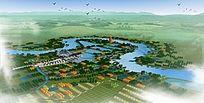 湿地公园建模