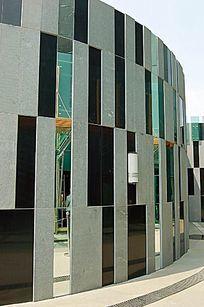 现代广场景墙