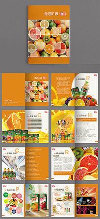 果汁画册产品画册产品宣传画册