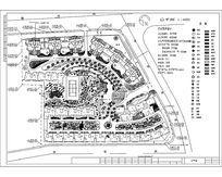 某小区景观方案设计图 dwg