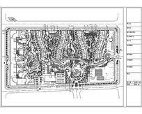 某住宅小区景观设计图