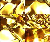 液态黄金动态鎏金视频