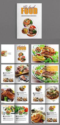 2017菜单菜谱中国风设计