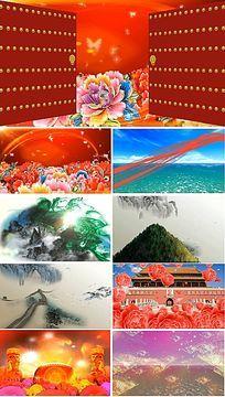 配乐成品和谐中国歌曲背景视频