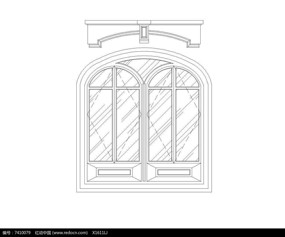 拱形窗户图片图片
