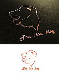 狮子logo PSD