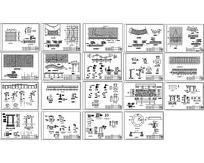 艺术花架CAD施工图