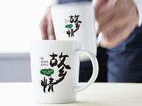 中国风故乡情餐饮logo