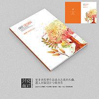 绘画班美术班宣传招生宣传册封面