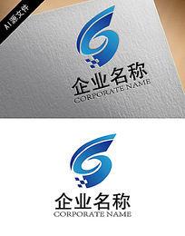 科技梦幻企业logo创意设计