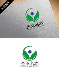 绿色环保企业logo设计