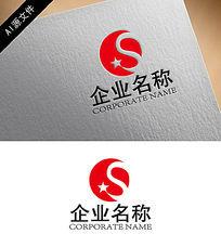 企业红星logo创意设计 AI