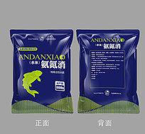 鱼塘微生物水质净化剂包装设计