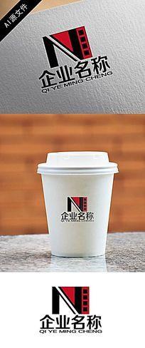 N字电影企业logo创意设计