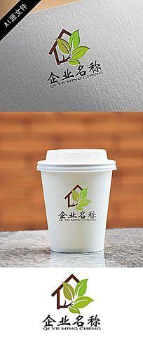 高端环保家具企业logo设计