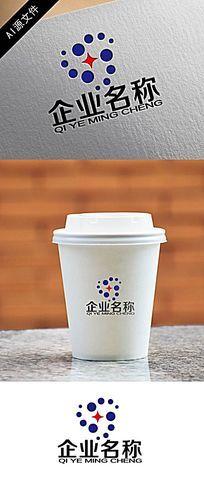 高端企业圆形logo创意设计