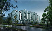 中式住宅周边绿化