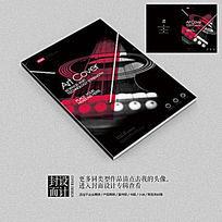 音乐培训招生宣传画册封面