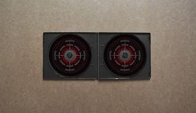 游戏黑色红色CD光盘图案