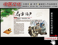 中医文化局方派展板挂图