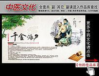 中医文化千金派展板挂图