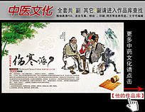中医文化伤寒派展板挂图