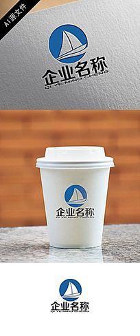 高端企业船型logo创意设计12 AI