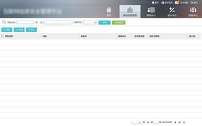 后台UI主界面模板