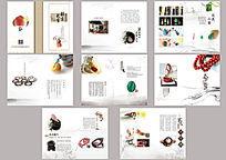 中国风文玩店画册设计稿PSD