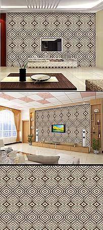 抽象欧式花纹墙纸背景墙纸设计