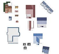 各类建筑平面PS素材