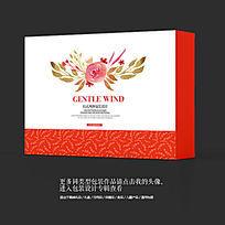 花茶茶叶高档礼盒包装设计素材
