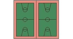 篮球场PS素材平面贴图