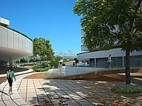 中学校园景观