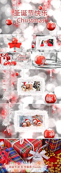ae圣诞节相册AE模板