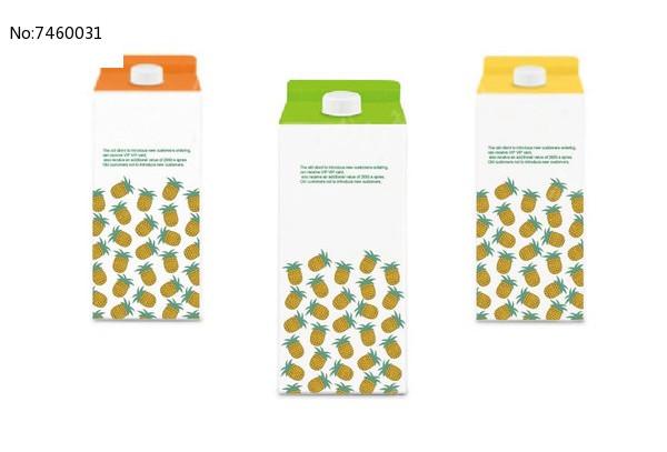 菠萝汁包装图片