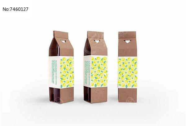 柠檬汁包装图片