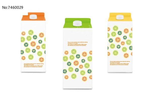 橘子汁包装设计图片