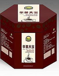 高端大气咖啡时尚包装盒