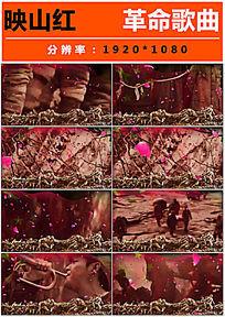 革命歌曲映山红视频模板