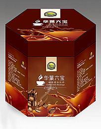 华丽咖啡包装盒