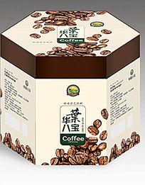 简约咖啡包装盒