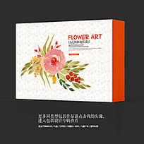日式和风水墨风高档水果包装盒设计