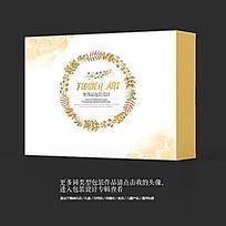 森系风食品美食包装盒设计素材