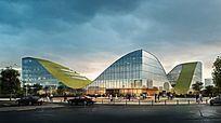 生态城市标志建筑