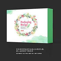 中国水墨风工艺品艺术品包装盒设计