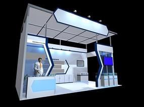 高新科技展馆模型