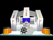 航海元素展览馆模型