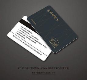 美容会所会员卡设计